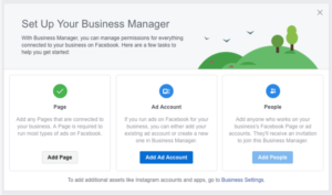 add ad account business facebook