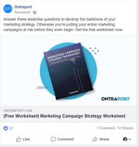 facebook image ad