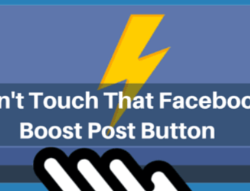 Using Facebook Boost Post Button to promote the restaurant business