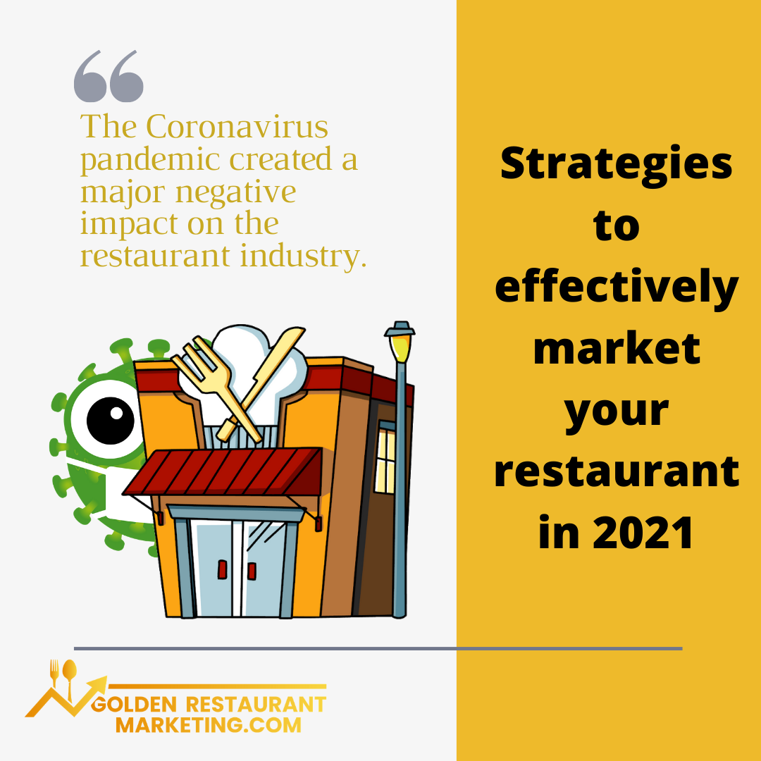 Four Strategies to Effectively Market Your Restaurant in 2021