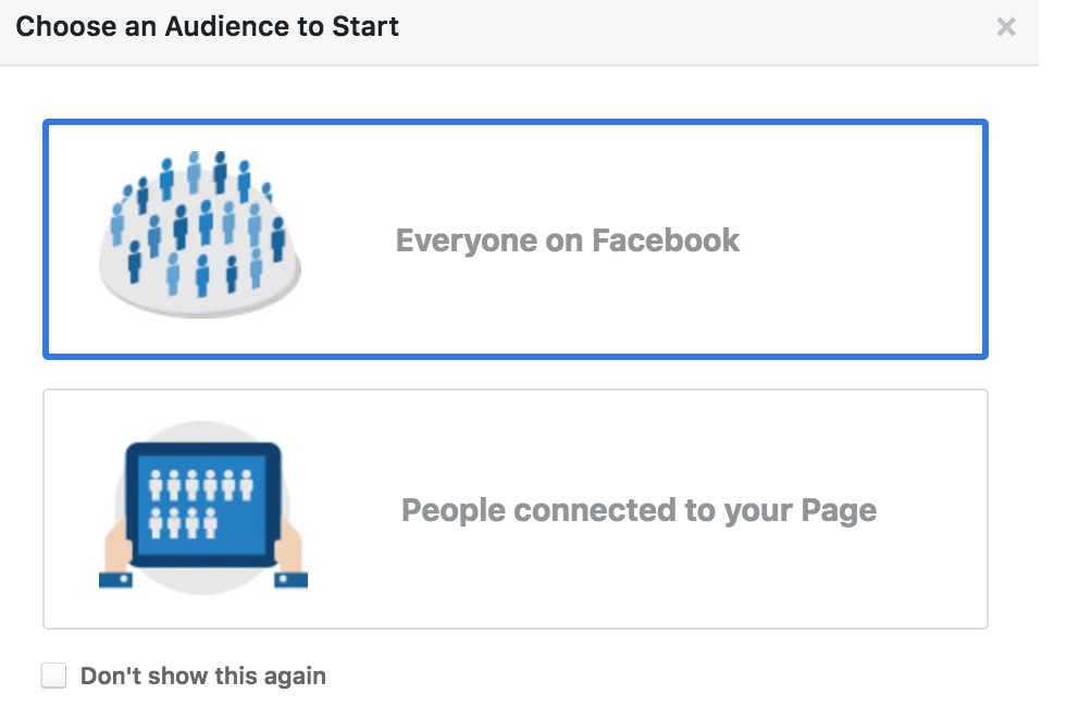 Facebook audience insight for restaurants and takeaways