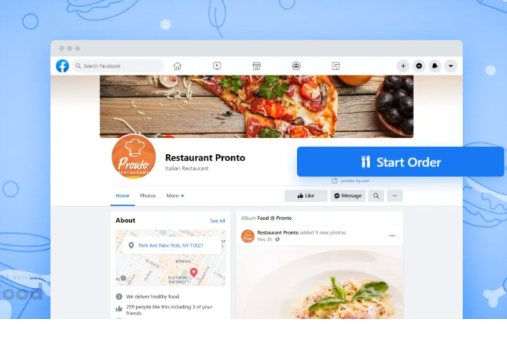 How To Add Online Ordering To Your Facebook Page